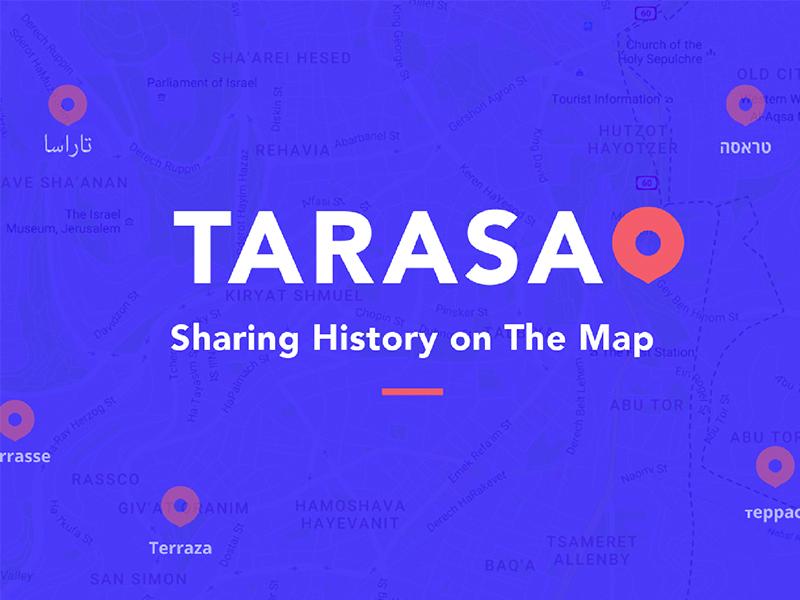 Web - Tarasa share web history map