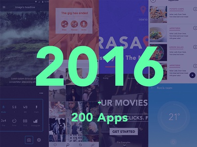 2016 - 200 Apps web apps 2016