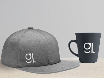 New Personal Branding Mockup mug cap icons vector typography design illustration mockup branding graphic design logo