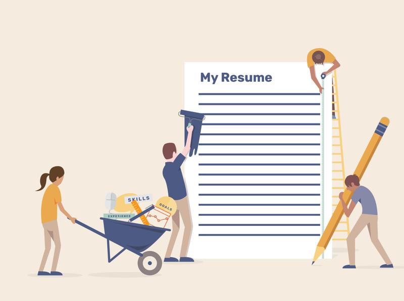 Renovate my resume