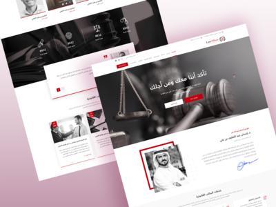lawyer website homepage law lawyer design website ui
