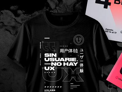UX T-shirt uxlabs ux tshirt design type typography tshirt
