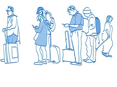 Passengers experience passengers airport customer journey aviation