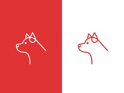 Pints & Puppies Blood Drive Logo logo puppy icon dog
