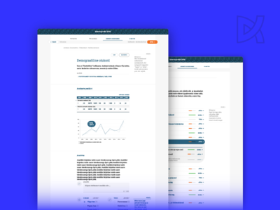 Terviseinfo Heaoluprofiil (TAI) html css content strategy web-design ui ux in-house statistics government estonia health information architecture