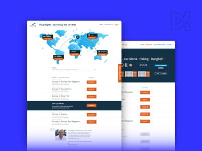 Traffel interaction design web-design usability ui ux vagabonding nomad europe world fly startup travel