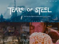 Movie website concept