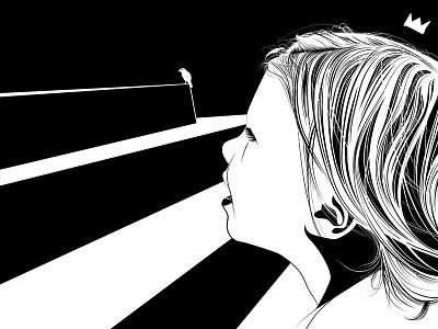 Sophia Vector (2015) illustration vector hair vector illustration