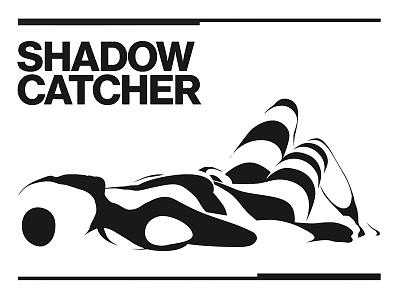 Shadowcatcher adobe illustrator modo body woman stripes 3d