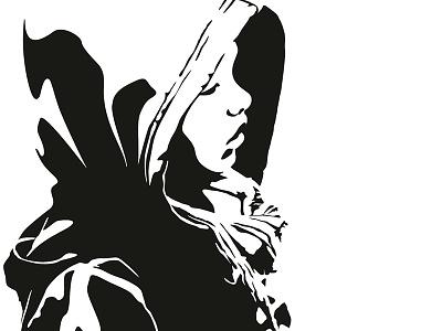Kaya Gomera (2014) illustration vector hoodie vector illustration