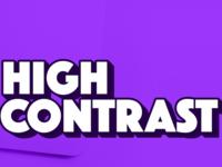 High Contrast Podcast Artwork