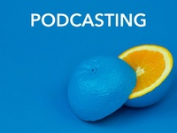 Blue Lemon Podcast Artwork Idea #2