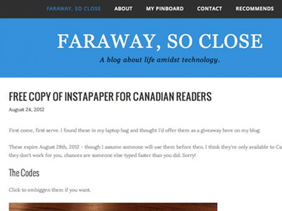 Toying With Moving my Blog to Squarespace