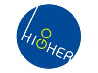 Go Higher, logo, Scrabble concept