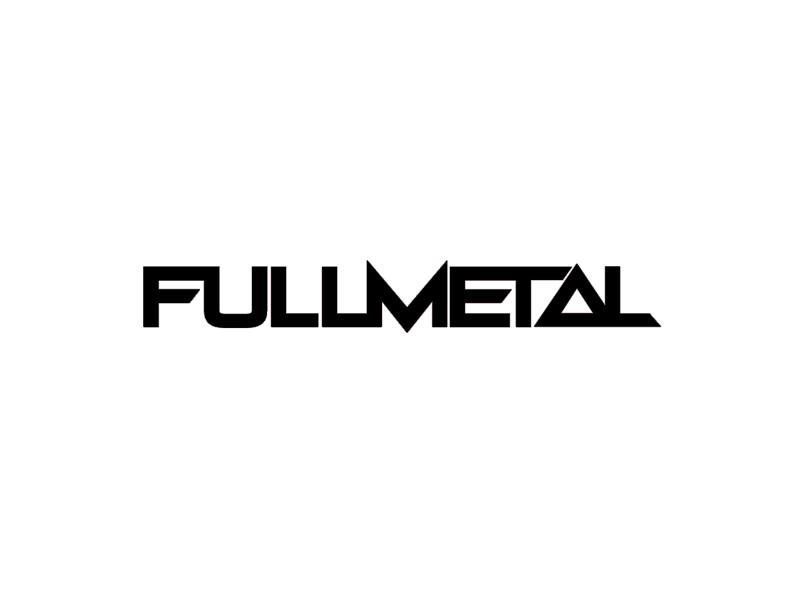 Fullmetal Logotype print illustration branding typography identity logo