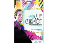 Cut Chemist Speaking Event Poster