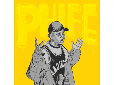 Phife Dawg Tribute Illustration