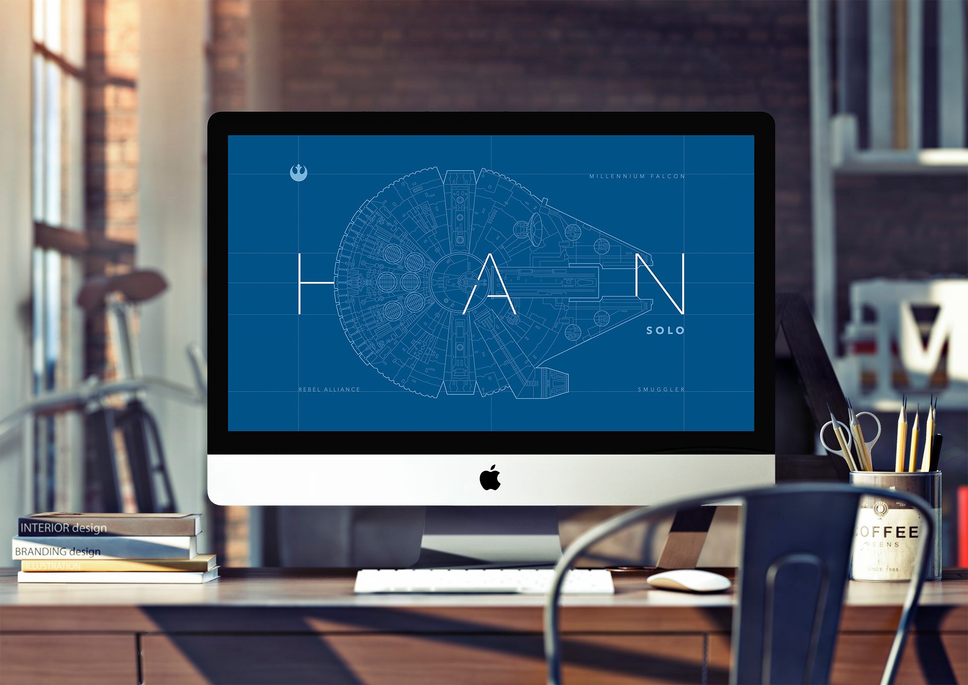 Star Wars Han Solo Schematic Design By Tall Tale Digital On Dribbble