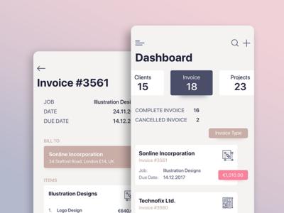 Invoice Dashboard