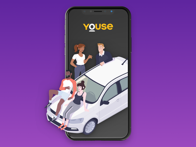 Youse Friends friends illustration insurtech reward program rewards reward programa de recompensa insurance youse friends youse ui design ui brand identity