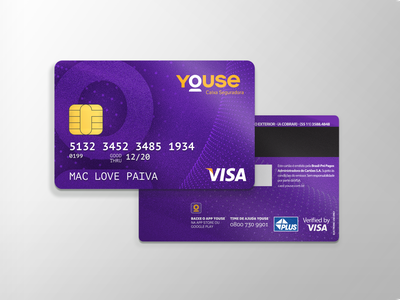 Youse Creditcard youse cards creditcard brand identity