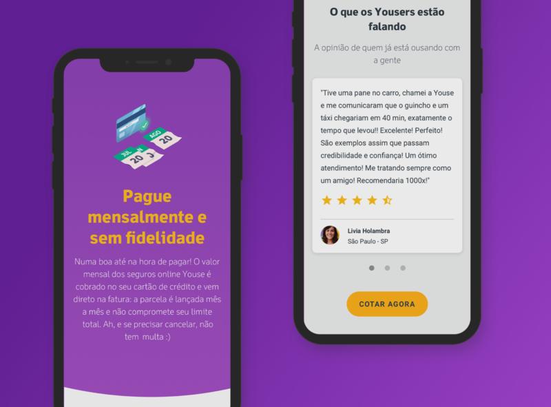 Youse Institucional website