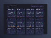 Dark Mode Dashboard