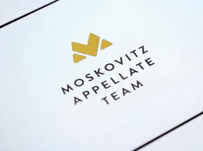 Moskovitz Logo badge typography logomark design branding minimal icon vector flat logo design logo