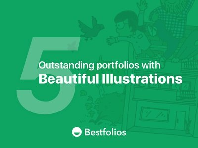 5 Outstanding Portfolios with Beautiful Illustrations collection inspirations illustrations portfolios