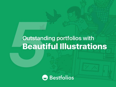 5 Outstanding Portfolios with Beautiful Illustrations