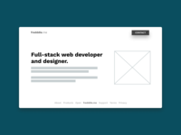 Personal Website Wireframe