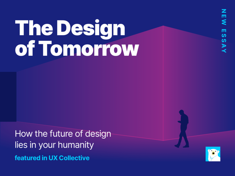 The Design of Tomorrow essay writing ui ux storytelling digital digital publishing editorial design