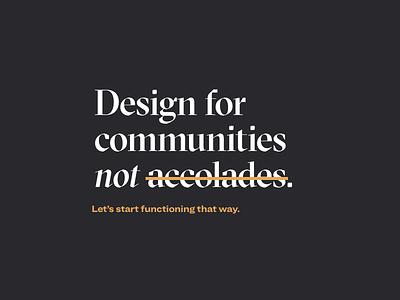 Always remember. responsible ux ethics graphic design design