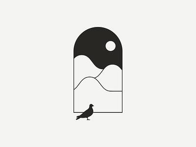Into the Wilderness icon vector illustration digital design graphic design