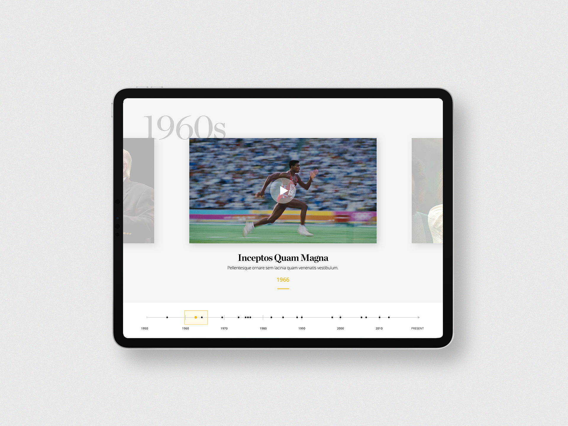 Interactive Timeline by Jeremy Cherry for Journey Group on Dribbble