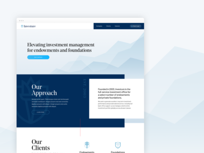 Investment Management Company Website