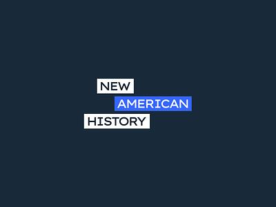 American History Brand education logo education history motion graphics motion typography vector logo digital branding graphic design design