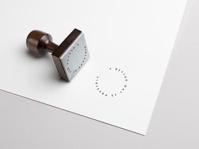 Rubber Stamp Design rubber stamp illustration branding graphic design design