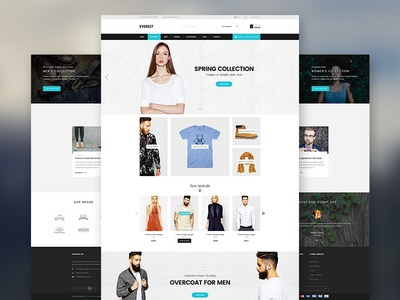 Everest Homepage Template