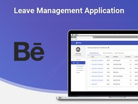 Leave Application Dashboard