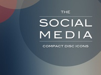The Social Media - Compact Disc Icon