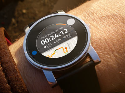 Android Wear - Smart Tracker 360