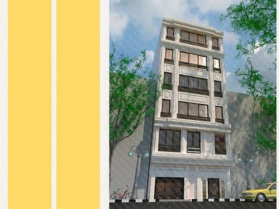 89-21 facade renderman corona drafting exterior facade 3dsmax revit rhino 3dmax architecture render design