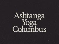 Ashtanga Yoga Columbus lockup