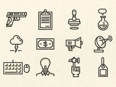 Chapter Icons illustration design mfa icons marks