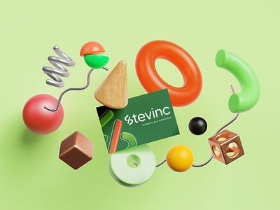 Stevinc - Brand Identity Design app logo branding design