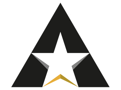 A-Star Logo Mark logo a-star