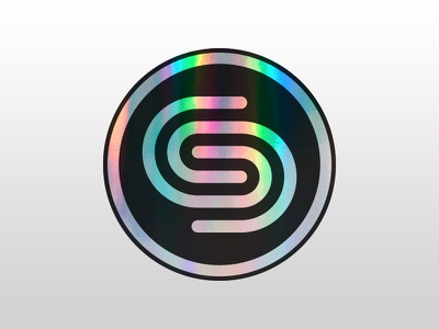 Christian Schmid Design Co. Holographic Stickers holographic