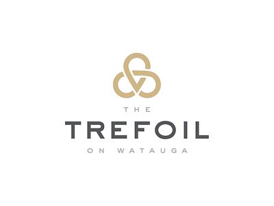 The Trefoil branding shamrock clover trefoil housing rental apartment logo design logo