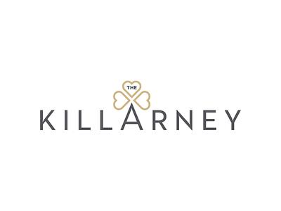 The Killarney irish clover trefoil shamrock housing rental apartment brand design branding logo design logo